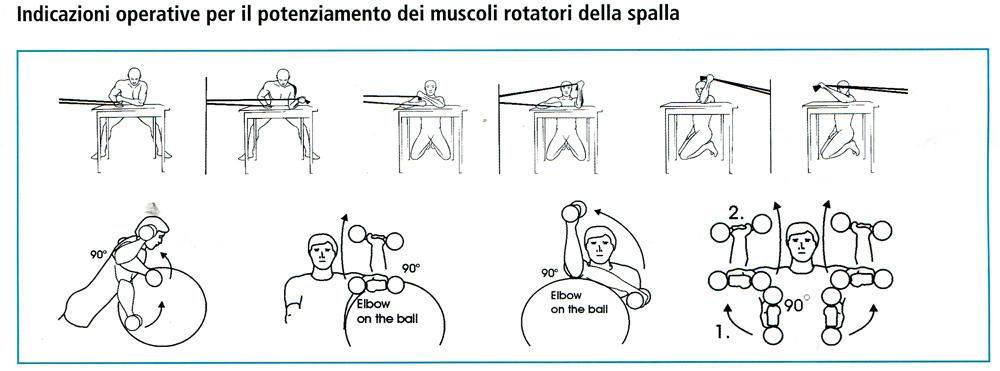 cuffia rotatore nuoto prevenzione