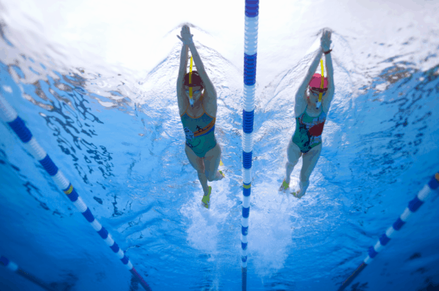 snorkel tubo frontale allenamento