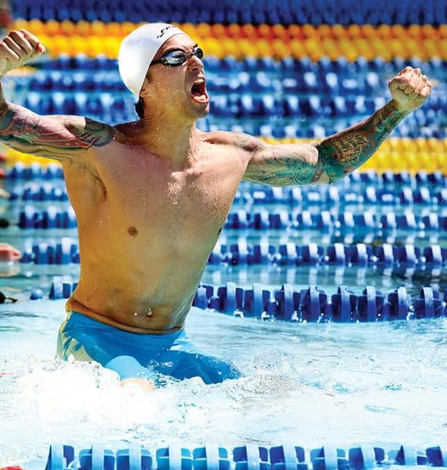 ervin medaglia oro finis Olimpiadi 2106