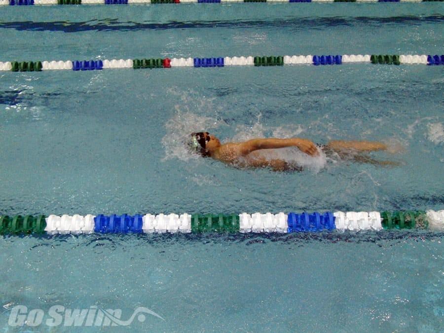 dorso nuoto allenamento