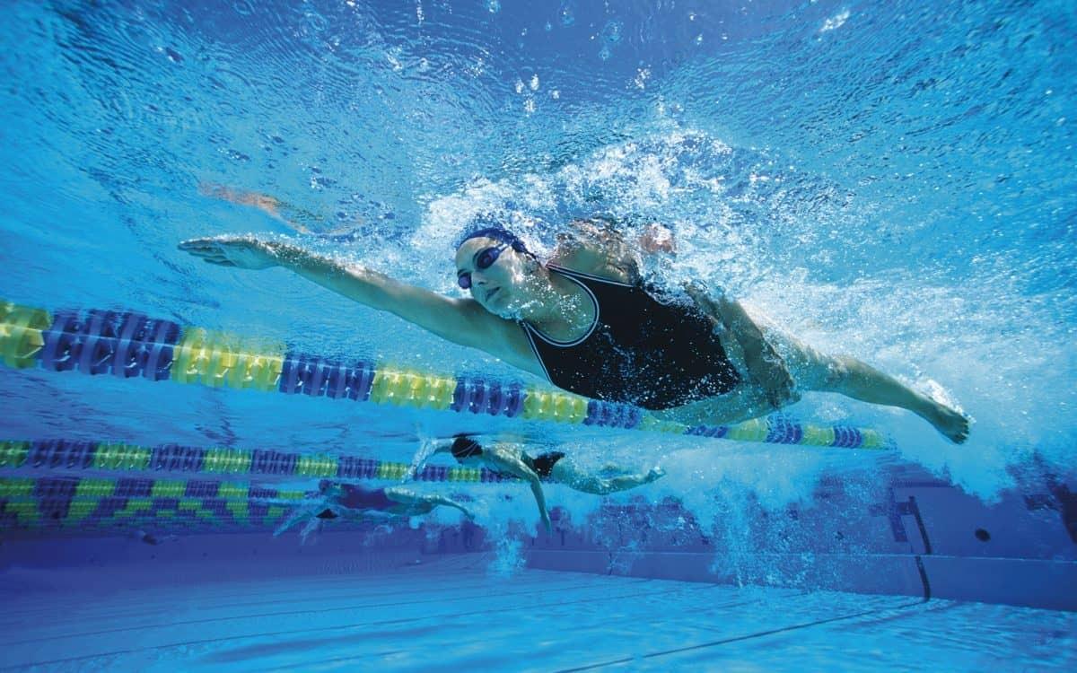 battuta gambe nuoto